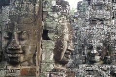 Il Bayon Angkor Thom Cambodia Fotografia Stock Libera da Diritti