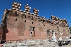 Il Bazilika, Redhall, in Pergamon, Smyrna. Fotografia Stock Libera da Diritti