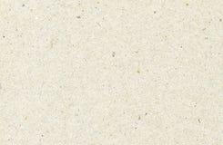 Il beige ha riciclato la struttura orizzontale della carta per appunti, fondo leggero Immagini Stock Libere da Diritti
