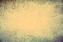 Il beige leggero ha incorniciato lo spazio grungy del cemento orizzontale del bordo Fotografia Stock Libera da Diritti