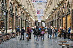 Il Belgio, città pittoresca di Bruxelles Fotografia Stock