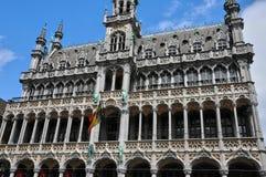 Il Belgio, Grand Place pittoresco di Bruxelles Fotografia Stock Libera da Diritti