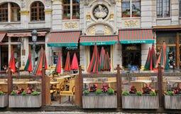 Il Belgio, Grand Place pittoresco di Bruxelles Immagine Stock
