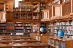 Il Belgio, Lovanio - 5 settembre 2014: Biblioteca storica a Lovanio Immagine Stock