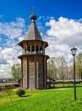 Il bellfry di legno Fotografia Stock