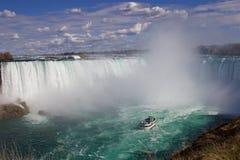 Il bello cascate del Niagara potente Fotografia Stock