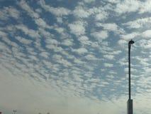 Il bello cielo fotografie stock