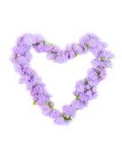 Il bello cuore del blocco per grafici Fotografia Stock