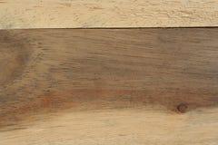 Il bello di legno marrone Fotografia Stock