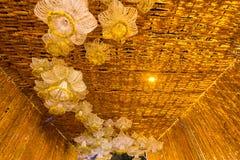 Il bello fiore incurva in fiore del ` per attività del ` del padre per essere informato di re Bhumibol Adulyadej della Sua Maestà Fotografie Stock