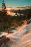 Il bello lago Tahoe California Fotografie Stock Libere da Diritti