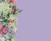 Il bello mazzo fiorisce con differenti tipi di flowe variopinti Fotografie Stock Libere da Diritti