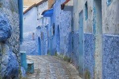 Il bello Medina di Chefchaouen, Marocco Fotografia Stock