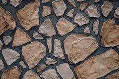 Il bello muro di mattoni Immagini Stock Libere da Diritti