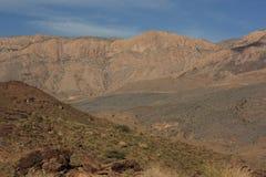 Il bello paesaggio della montagna vicino a Jebel simula, l'Oman immagine stock