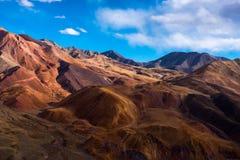 Il bello paesaggio: Viaggiando nel Tibet Immagini Stock Libere da Diritti