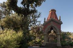 Il bello parco della villa Pallavicini, in Genua, l'Italia Immagine Stock Libera da Diritti