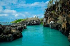 Il bello punto di riferimento Las Grietas è un geologico fotografie stock libere da diritti