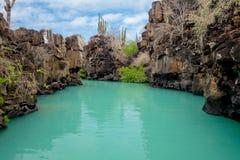 Il bello punto di riferimento Las Grietas è un geologico fotografie stock