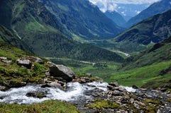 Il bello Tibet Fotografia Stock