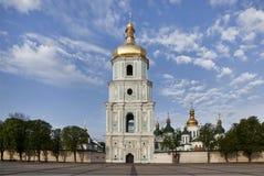 Il belltower di Sophia Cathedral a Kiev immagine stock libera da diritti