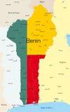 Il Benin Illustrazione di Stock