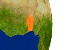 Il Benin su terra Fotografia Stock Libera da Diritti