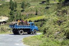 Il Bhutan, Haa, Fotografia Stock Libera da Diritti