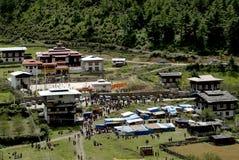 Il Bhutan, Haa, Fotografia Stock