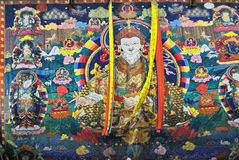 Il Bhutan, Haa, Thankha Immagine Stock