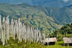 Il Bhutan, Trashigang, Fotografia Stock