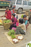Il Bhutan, Wangdi Phodrang, Immagine Stock