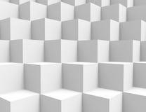 Il bianco cuba la priorità bassa royalty illustrazione gratis