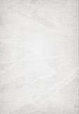 Il bianco, gray graffiato, ha riciclato la struttura di carta Fotografia Stock