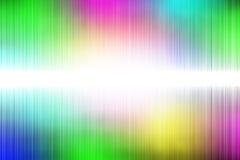 Il bianco ondeggia sul fondo dell'arcobaleno Immagine Stock