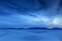 Il bianco smeriglia il New Mexico Fotografia Stock Libera da Diritti