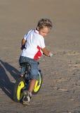 Il bicyclist Fotografie Stock