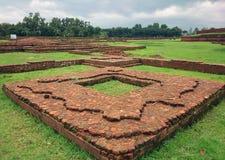 Il Bihar buddista al patrimonio mondiale del Bangladesh fotografie stock
