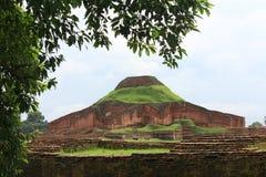 Il Bihar buddista al patrimonio mondiale del Bangladesh fotografia stock