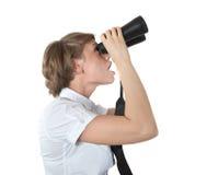 Il binoculare Fotografie Stock Libere da Diritti