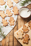 Il biscotto di zucchero casalingo divertente Fotografia Stock