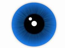 œil bleu Photos libres de droits