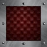 Il blocco per grafici di alluminio si è serrato ad una fibra del carbonio Immagine Stock Libera da Diritti