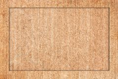 Il blocco per grafici di legno ha fatto il compensato del ââof. Fotografia Stock