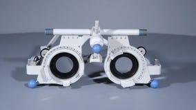 La struttura di prova dell'optometrista Fotografia Stock Libera da Diritti