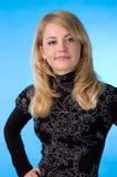 Il blonde di bellezza. Fotografia Stock Libera da Diritti