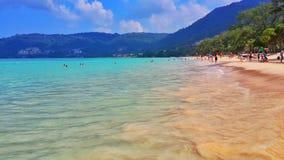 Il blu del mare delle Andamane Immagine Stock Libera da Diritti