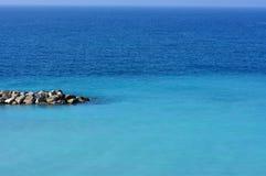Il blu della superficie del mare. Fotografia Stock Libera da Diritti