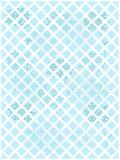 Il blu fiorisce la grata di bianco del fondo illustrazione di stock