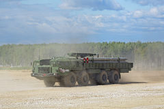 Il BM-30 Smerch Immagini Stock